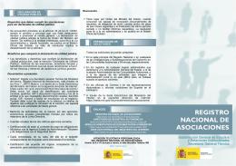 REGISTRO NACIONAL DE ASOCIACIONES