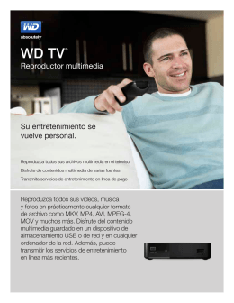 WD TV® Media Player - Product Overview