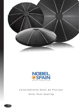 verkoopfolder 10-2010 Nobel Spain Solar Pool Heating