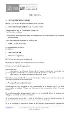 FICHA TÉCNICA 1. NOMBRE DEL MEDICAMENTO