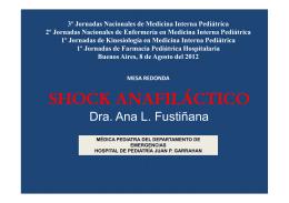 ¿Qué hacer ante un shock anafiláctico?