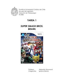 Super Smash Bros Brawl - Pontificia Universidad Católica de Chile
