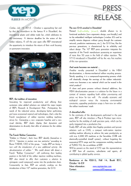 PRESS RELEASE - REP International