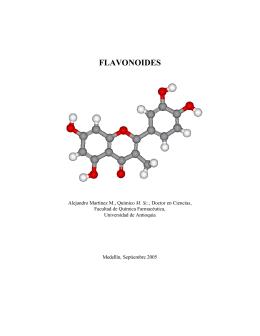 flavonoides - Ciencias Farmacéuticas y Alimentarias