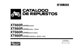 XT660R(5VKG)EUROPE - Yamaha Motor México