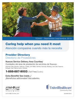 UnitedHealthcare Community Plan STAR+PLUS
