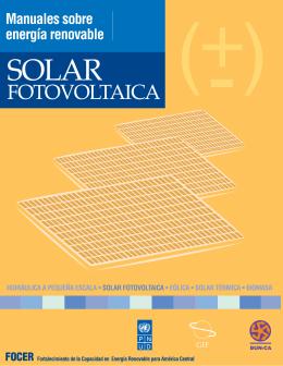 Manuales sobre energía renovable: Solar Fotovoltaica - Bun-CA