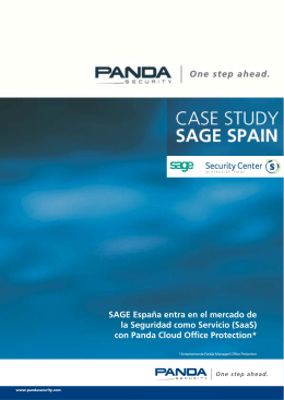 SAGE España - Panda Security