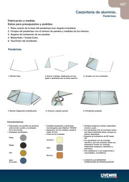 Pág.427-432 Carpinteria aluminio y escalas 2008