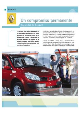 La seguridad de Renault