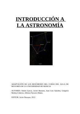 EL MOVIMIENTO DEL CIELO - Proyecto Webs