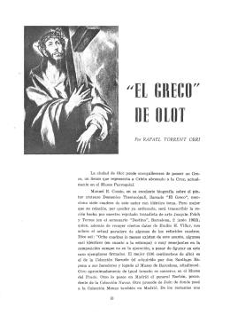 EL GRECO DE OLOT - Revista de Girona