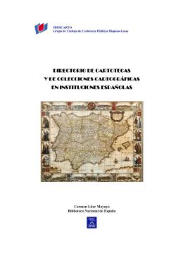 Directorio de cartotecas y colecciones cartográficas