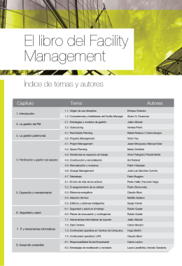 El libro del Facility Management