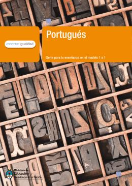 Portugués - entrama - Ministerio de Educación
