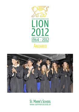 The Lion - 2012 - Colegio San Marcos