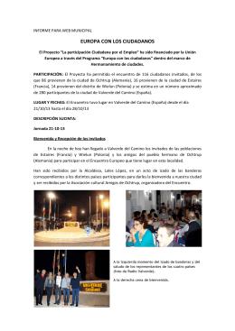 resumen_encuentro201.. - Ayuntamiento de Valverde del Camino