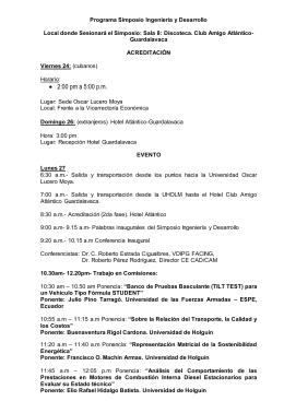 Ingeniería y desarrollo - Universidad de Holguín