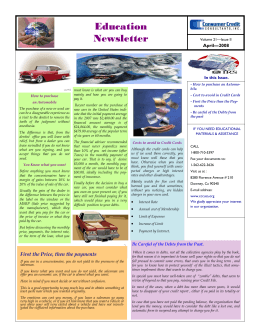 Education Newsletter