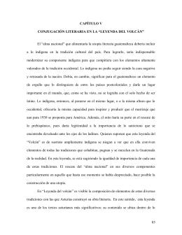 Las leyendas de Guatemala de Miguel Angel Asturias: la utopía