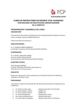 programa cisva 2015 madrid junio