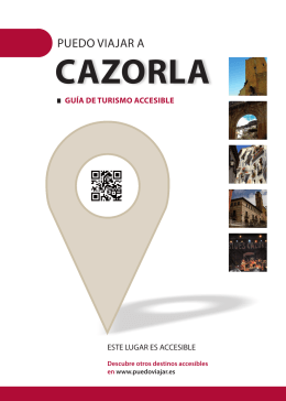 Puedo viajar a Cazorla: guía de turismo accesible