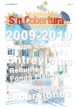 Grupos CSL Actur Rebujitos Fondo Flamenco