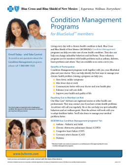 Condition Management Programs