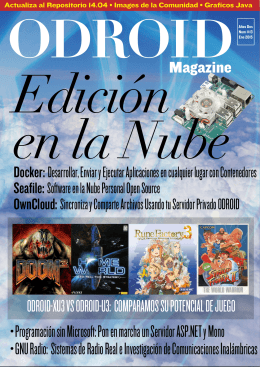 Descarga - magazine ODROID