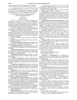 BANCO POPULAR Y DE DESARROLLO COMUNAL