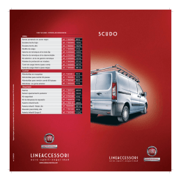 lineaccessori - Servicios Fiat