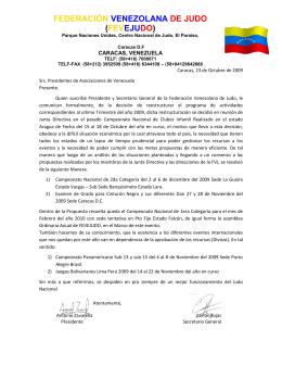 federación venezolana de judo - Asociacion de Judo del Estado Zulia