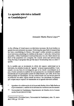 Artículo - Comunicación y Sociedad