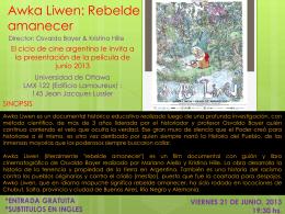 Awka Liwen: Rebelde amanecer