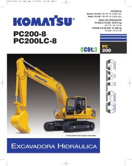 PC200-8 - Komatsu