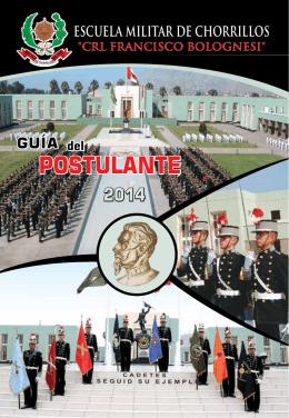 Guia del Postulante - Escuela Militar de Chorrillos