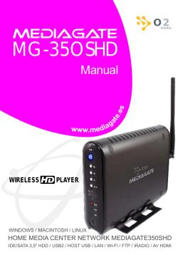 manual MG350SHD