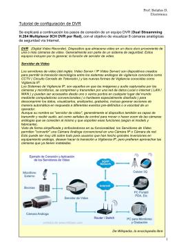 Tutorial de configuración de DVR