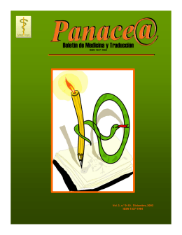 Panace@, vol. 3 núm. 9