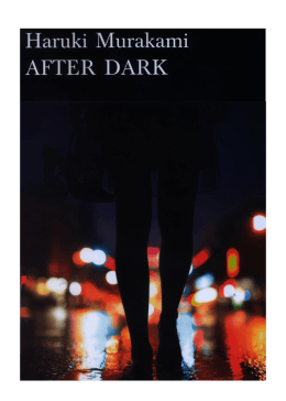 After Dark - Murakami en la Orilla