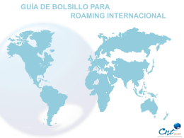guia de bolsillo roaming internacional