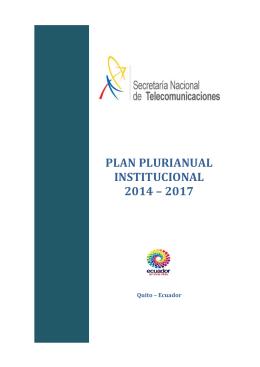 Estratégico Institucional - Agencia de Regulación y Control de las