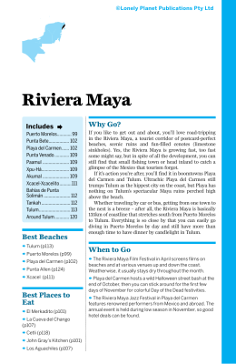 Riviera Maya - Lonely Planet