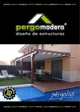 Catalogo Pergolas - Pergomadera pérgolas y porches de madera