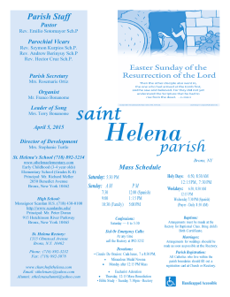 April 5, 2015 - Church of St. Helena