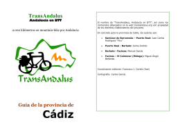 descripcion - TransAndalus