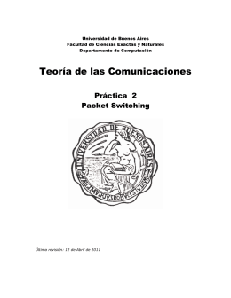 Teoría de las Comunicaciones - Universidad de Buenos Aires