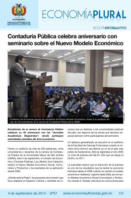 Contaduría Pública celebra aniversario con seminario sobre el
