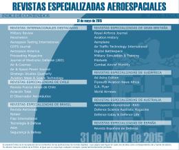 31 de MAYO de 2015 - Escuela Superior de Guerra Aérea