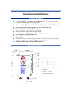 El Calentador Instantáneo de agua eléctrico sin tanque START JET